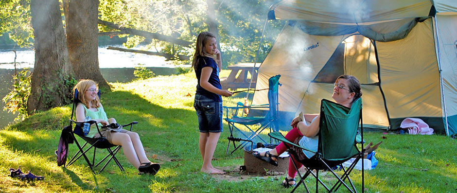 Campground Cooking Out